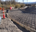 100415-WY-22-Grand-Opening-Crews-on-WY-22-Pathway-concrete-prep