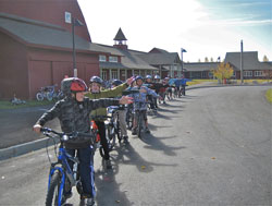 Safe Routes Wilson kids train-small