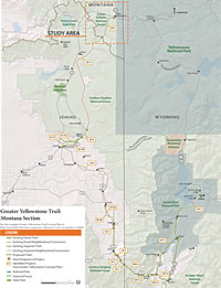 Greater Yellowstone Trail Wyoming Pathways Wyoming Pathways