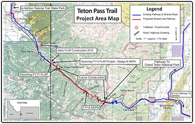 Greater Yellowstone Trail - Wyoming Pathways : Wyoming Pathways
