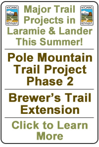 View Spring/Summer 2018 Trail Projects in Lander and Laramie