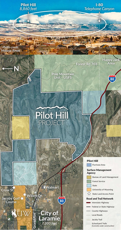 Pilot Hill Project Map